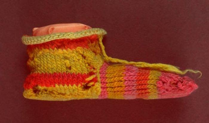 Один из древнейших в мире носков.